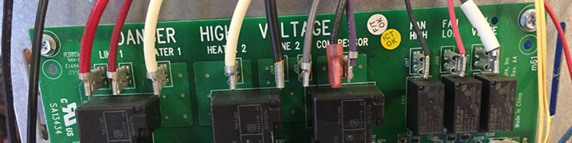 High Voltage Main Board | Heating and Cooling Units in Edgewater, NJ