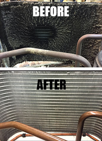 Before and After Cleaning a PTAC Unit | Heating and Cooling Units in Edgewater, NJ