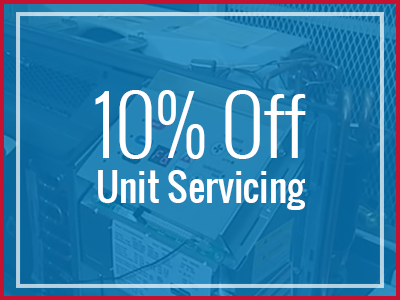 10% Off Unit Servicing